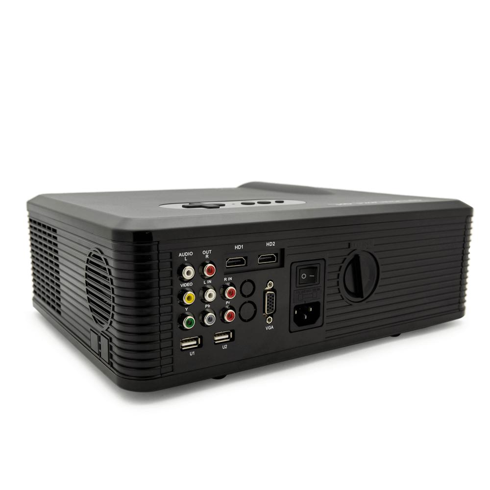 Мини проектор Excelvan CL720 (черный) - 5